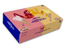 Pingviini Mansikka&Mango-Meloni pakkaus