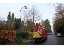 Udskiftning af gadelys - bredformat