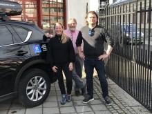 Malmberg Norge AS- fr.v Sofia Knudsen, Jan Henrik Knudsen, Iver Bakkeli