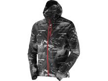 Salomon Fast Wing Graphic hoodie M, black