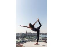 Yogainstruktör Johanna Ljunggren