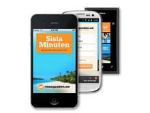 Rekord för sista-minuten-appen när svenskarna började jobba