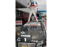 Styrkebesked i DTM på Adria för Audi.