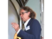 Reinhard Karger vom DKFI stellte sich im Anschluss an seinen vielbeachteten Vortrag zum Thema KI den Fragen der Teilnehmer