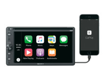 Sony_XAV-AX205DB_Front_Apple_CarPlay_Home-Mid
