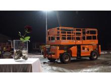Scherenbühne - ein außergewöhnlicher Valentinstag mit Cramo
