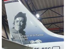 SE-RTC Rodríguez de la Fuente - Boeing 737 MAX 8 - estribor detalle 2