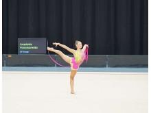 SM-vinnaren i rytmisk gymnastik, Anastasia Ponomarenko, Gymnastikföreningen Energo