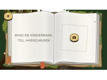 Skogsmulle & naturboken/Bygg en hinderbana