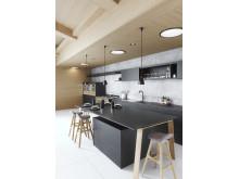 Silestone Kitchen Europea - Eternal Charcoal Soapstone