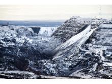 Gruvan Kirunavaara i Kiruna