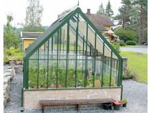 Generöst planerat Attefallsväxthus från Vansta