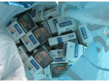 Op Brut cigarettes seized by HMRC in Merseyside 2