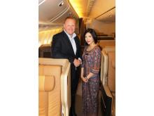 Henrik Hanevold, sales manager i Singapore Airlines