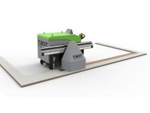 Snart lanseras CBots första produkt – en plattsättande robot för stora golv.