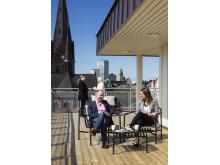 Terrass Aller media Malmö