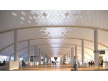 Oslo Lufthavn 2017 - Pir Nord innvendig
