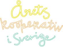 Logga Årets kooperativ i Sverige