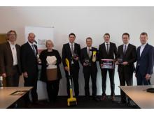 Gewinner des Wettbewerbs Baumarktprodukte des Jahres 2015/16