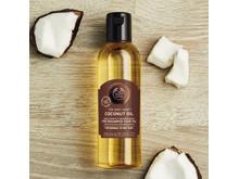 Coconut Oil, pre-shampoo hair oil