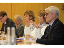 Christa Maar, Präsidentin des Netzwerk gegen Darmkrebs. Pressegespräch am 5.Juni 2014