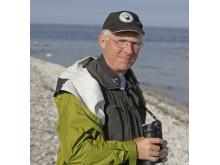Jan Uddén föreläser om fåglarna i skärgården.