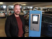 Anders Holt Busk, chef för parkeringsverksamheten
