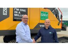 Volvo CE levererar den miljonte uppkopplade maskinen eller fordonet