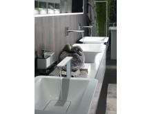 Nytänkande och vacker design för badrum