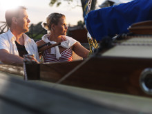 Pressbild - Göta kanal, fritidsbåt