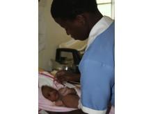 Vård av nyfödda Uganda