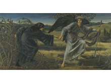 Edward Burne-Jones, Love and the Pilgrim, 1896-7, olja på duk, 157,5 x 304, 8 cm, © Tate, London, 2019