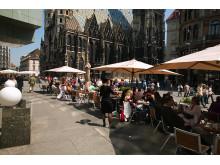I dagene omkring Grand Prix vil torve og pladser i Wien summe af musik og liv fra hele verden.