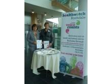 Healthwatch Rochdale drop-in session