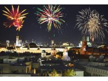 Matupplevelse i himlen i Moskva