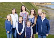 Maria og de 7 Von Trapp børn