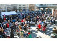 Barnvagnsmarschen 2014