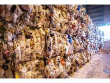 Plastemballasje til gjenvinning