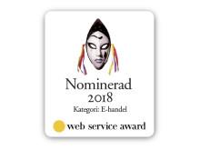 NetOnNet nominerad till Sveriges bästa webbplats i WSA 2018