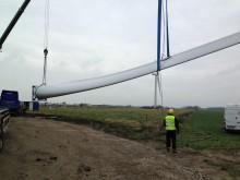 Tre nya vindkraftverk utanför Höganäs