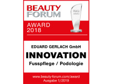 Beauty Forum Award 2018