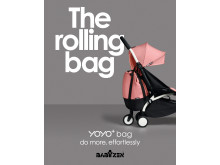 YOYO+ bag, a rolling bag... that changes everything!
