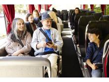 Swebus nya bussar mellan Stockholm och Göteborg