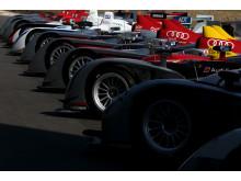 Le Mans winning Audi prototypes (2000-2014) close-up