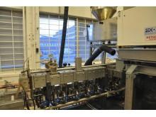Paxymer tillverkas i ny fabrik - dubbelskruvsextruder