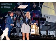 Prisen som Årets Elev gik til Henriette Bak Østergaard, der er udlært i JYSK-butikken i Gentofte.