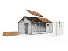 Premierad i Design S, Hedersomnämnande Alice Rawsthorn: Refugee Housing Unit