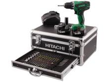 Hitachi drill / kompaktdrill / borskrutrekker 10,8V DS10DAL (3,0AH)