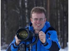 Skellefteås kända naturfotograf Peter Lilja
