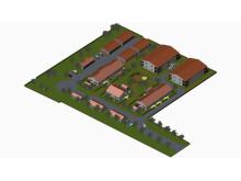 Treklöverns nya bostadsområde i Klippan